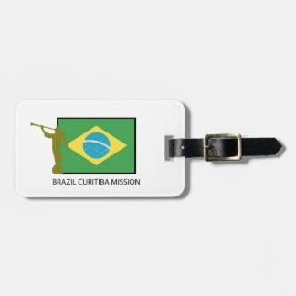 BRAZIL CURITIBA MISSION LDS TRAVEL BAG TAGS