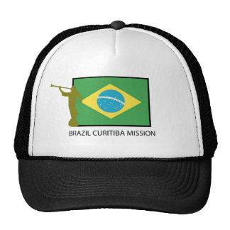 BRAZIL CURITIBA MISSION LDS TRUCKER HAT