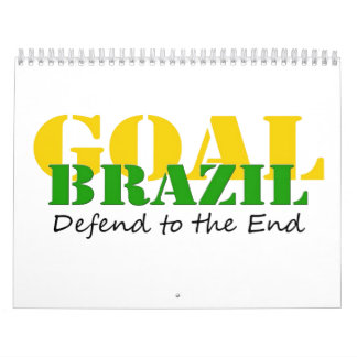 Brazil - Defend to the End Calendar