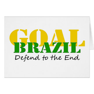 Brazil - Defend to the End Card