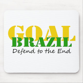 Brazil - Defend to the End Mouse Pad