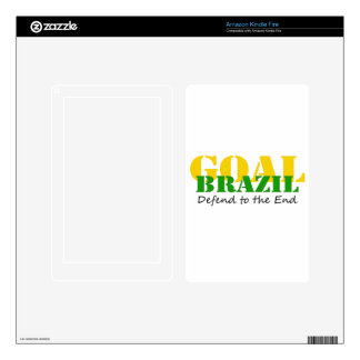 Brazil - Defend to the End Kindle Fire Decals