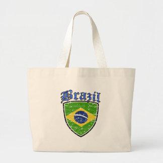 Brazil Designs Large Tote Bag