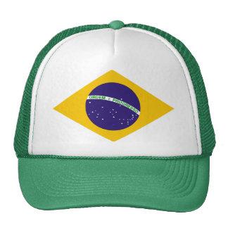 Brazil diamond - emblem of the Brazilian flag Mesh Hats