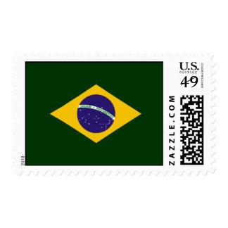 Brazil diamond - emblem of the Brazilian flag Postage