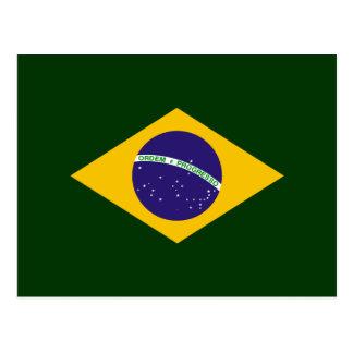 Brazil diamond - emblem of the Brazilian flag Postcard