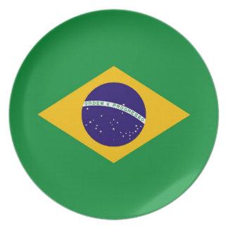 BRAZIL DINNER PLATE