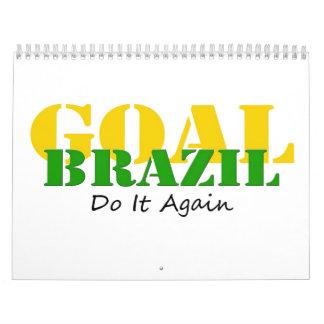 Brazil - Do It Again Calendar