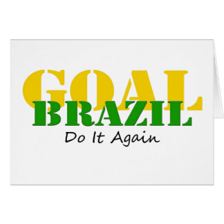 Brazil - Do It Again Card