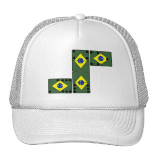Brazil Domino s Trucker Hats