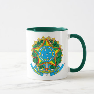 brazil emblem mug