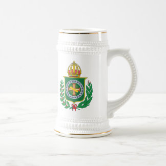 Brazil Empire Coat of Arms Beer Stein