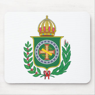Brazil Empire Coat of Arms Mouse Pad