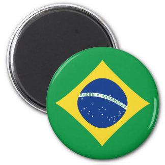 Brazil Fisheye Flag Magnet