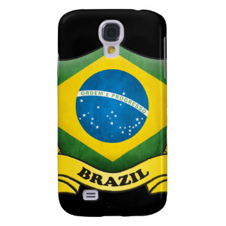 Brazil Flag 3G/3GS  Samsung Galaxy S4 Cases