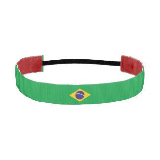 Brazil Flag Athletic Headband