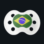 """Brazil Flag Baby Pacifier<br><div class=""""desc"""">This baby pacifier has the Brazilian flag. You can also match it with cards,  stickers,  and stamps from www.zazzle.com/Artcor7Cards,  wrapping paper from www.zazzle.com/Artcor7GiftsPaper,  and a variety of decorative and personal gifts from www.zazzle.com/Artcor7.</div>"""