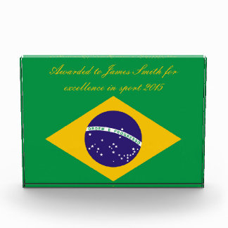 Brazil flag Brazilian Award
