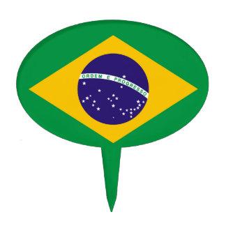 Brazil flag Brazilian Cake Topper
