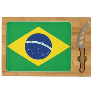 Brazil Flag Brazillian Flag Brazil Fan Pride Ordem Cheese Board