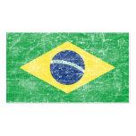 brazil flag business card templates