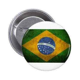 Brazil Flag Button