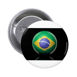 Brazil Flag Pins