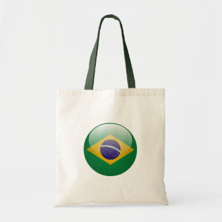 Brazil Flag Canvas Bag