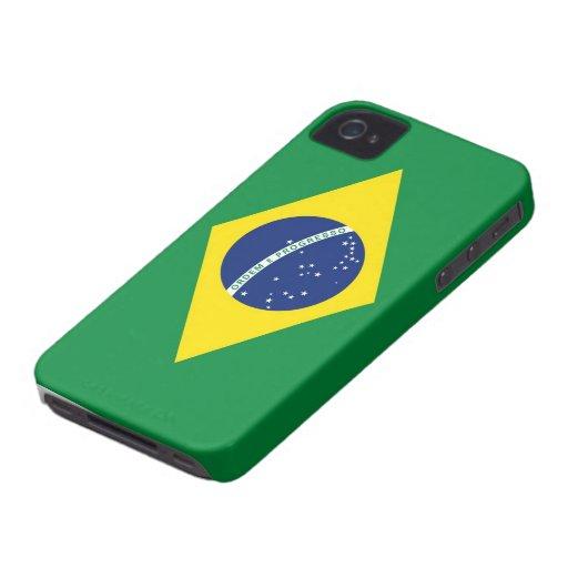 Brazil Flag Case-Mate iPhone 4 Cases