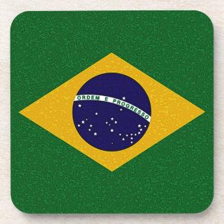 BRAZIL FLAG Coaster Set