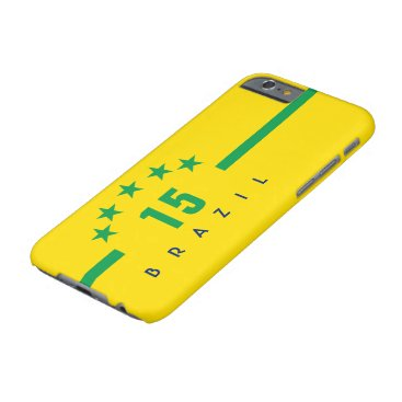 Brazil Flag Colors World Cup Soccer Barely There iPhone 6 Case