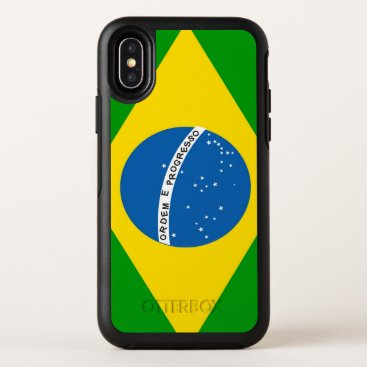 Brazil, Flag & colours of Rio (mobile) OtterBox Symmetry iPhone XS Case