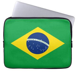 Brazil Flag Computer Sleeve
