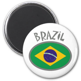 Brazil Flag - Cool Design! Magnet