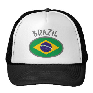 Brazil Flag - Cool Design! Trucker Hat