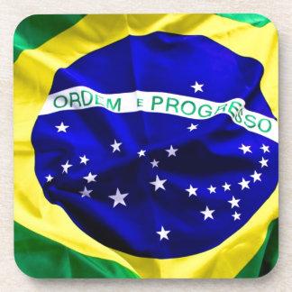 brazil-flag coaster