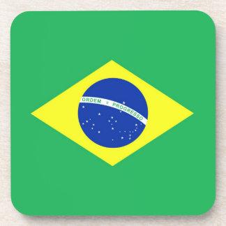 Brazil Flag Coasters