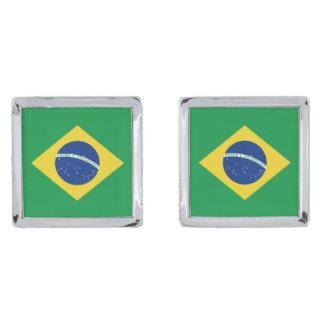 Brazil Flag Cufflinks