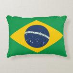 Brazil Flag Decorative Pillow