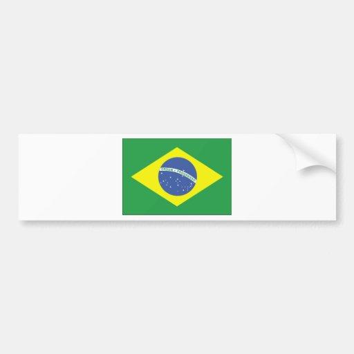 Brazil Flag Design Bumper Sticker Zazzle
