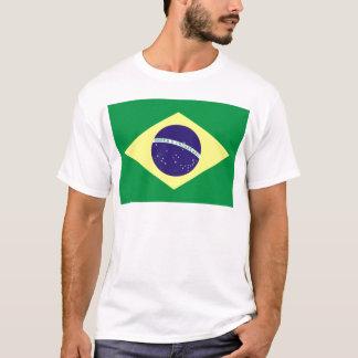 Brazil Flag Design T-Shirt