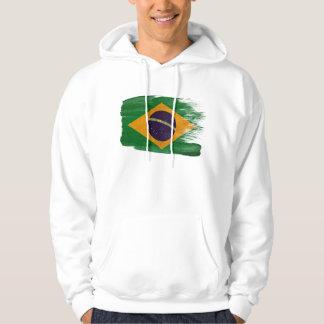 Brazil Flag Hoodie