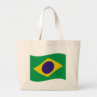 brazil flag icon jumbo tote bag