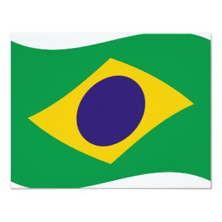 brazil flag icon card