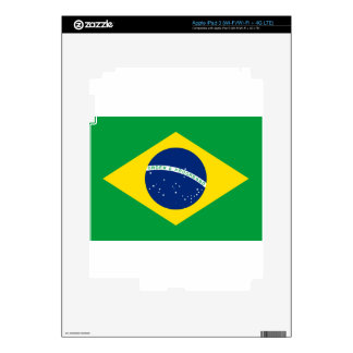Brazil Flag iPad 3 Decals