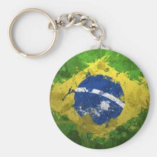 Brazil-Flag- Keychain