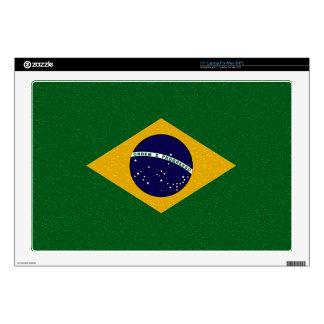 BRAZIL FLAG Laptop Skin