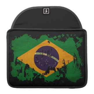 Brazil Flag MacBook Pro Sleeve