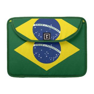 Brazil flag sleeves for MacBook pro