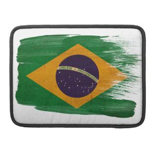 Brazil Flag MacBook Pro Sleeves